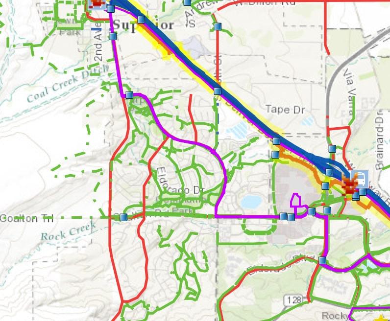 Interactive Map: Bike 36