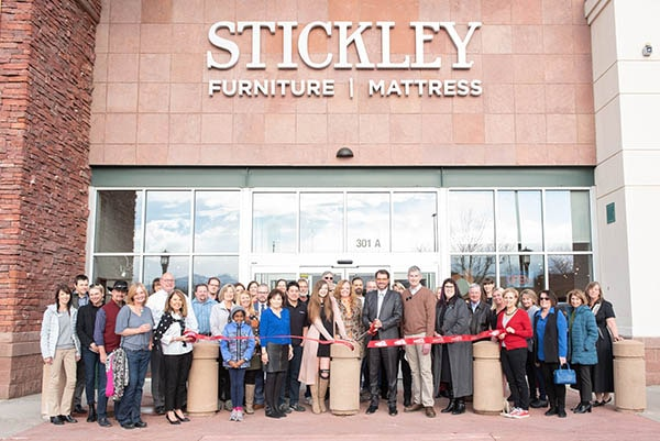 Stickley Ribbon Cutting