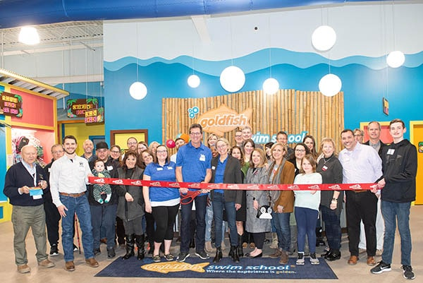 Goldfish Swim School Ribbon Cutting